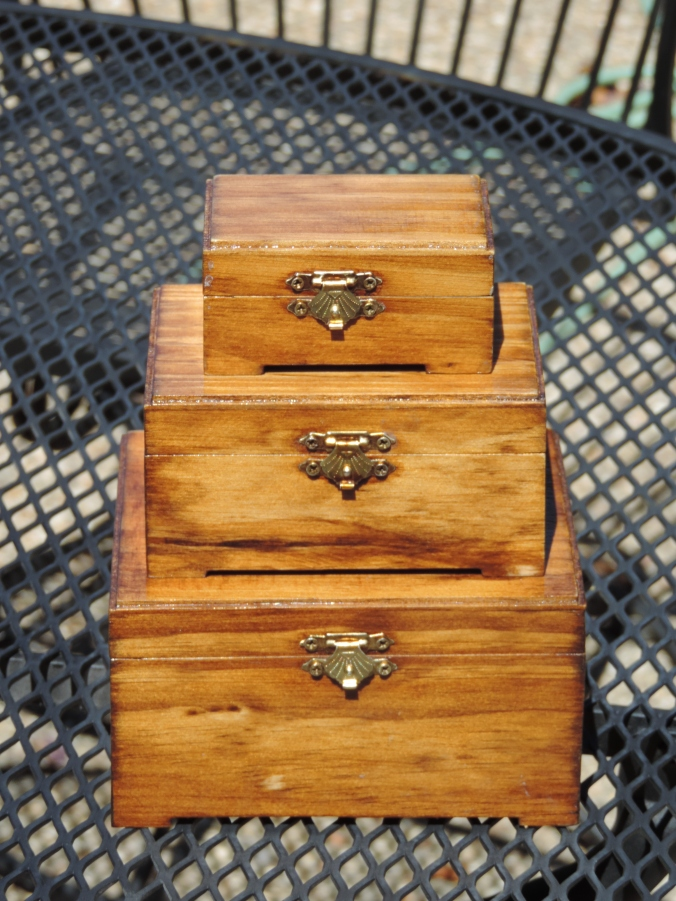 Jewelry Boxes - closed