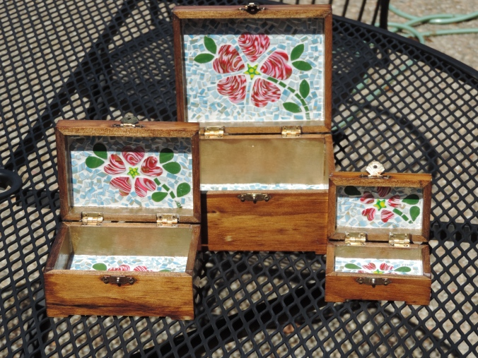 Jewelry Boxes - open