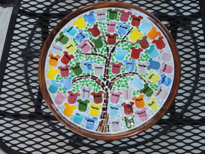 Family Tree cake stand