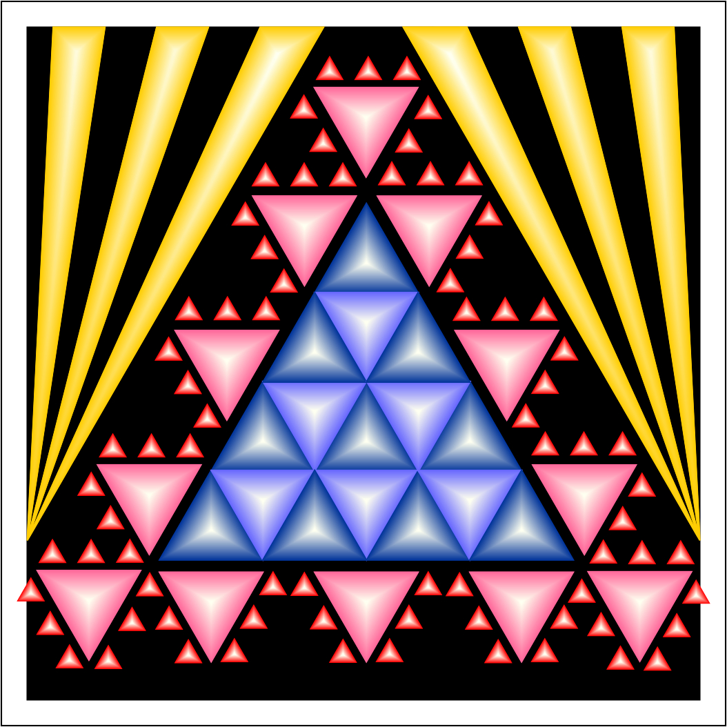triangles color