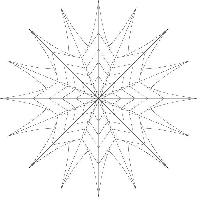 Caths Creations Starburst