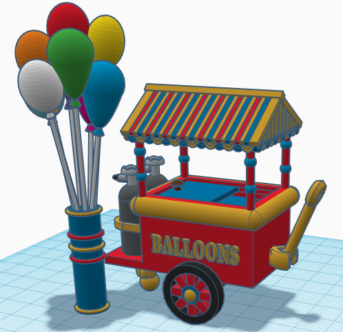Balloon Cart 2
